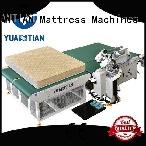 Quality mattress tape edge machine YUANTIAN Mattress Machines Brand machine mattress tape edge machine