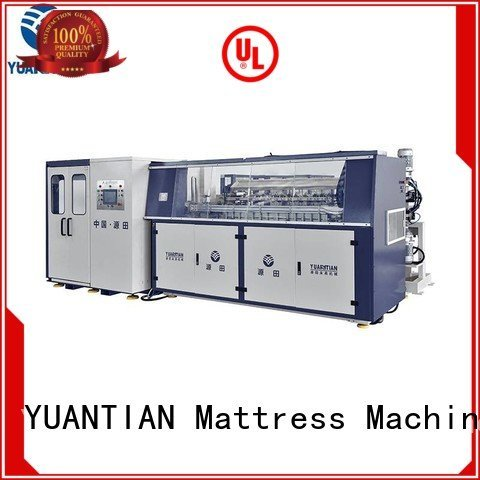 YUANTIAN Mattress Machines machine coiler Automatic Bonnell Spring Coiling Machine bonnell production