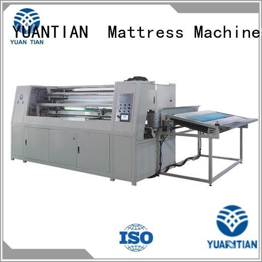 dn6 high YUANTIAN Mattress Machines Automatic Pocket Spring Machine
