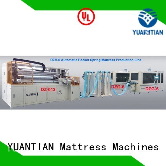 YUANTIAN Mattress Machines Brand spring Automatic Pocket Spring Machine production dzg6