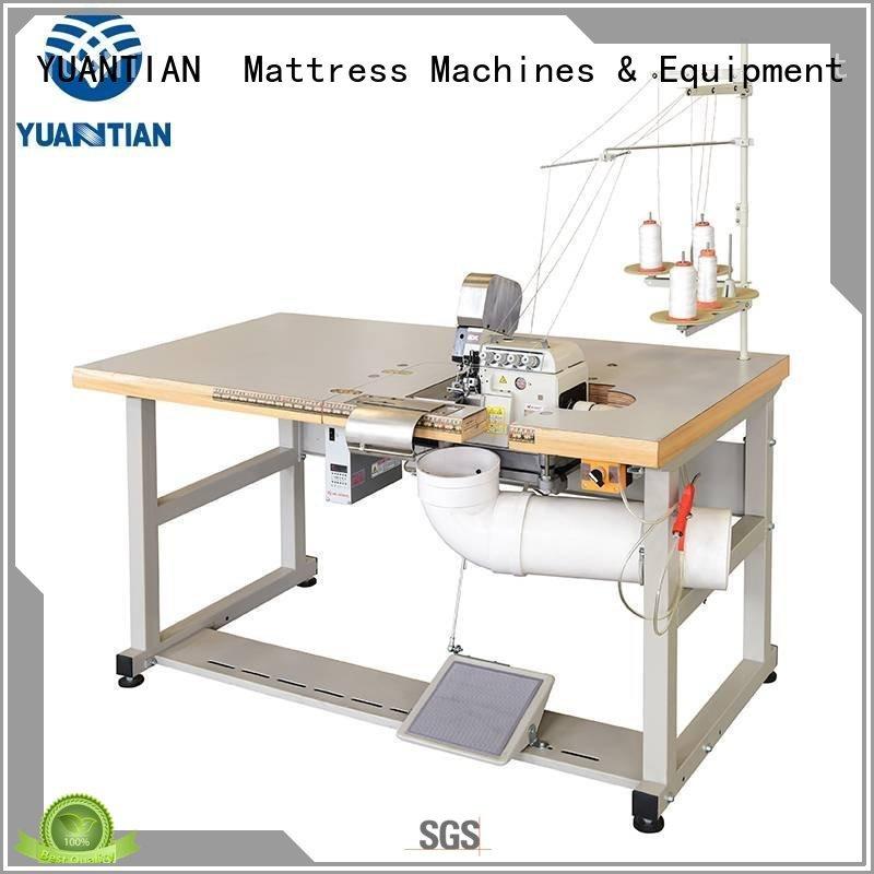 flanging Mattress Flanging Machine multifunction YUANTIAN Mattress Machines company