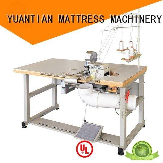 Custom Mattress Flanging Machine heads ds7a ds5 YUANTIAN Mattress Machines