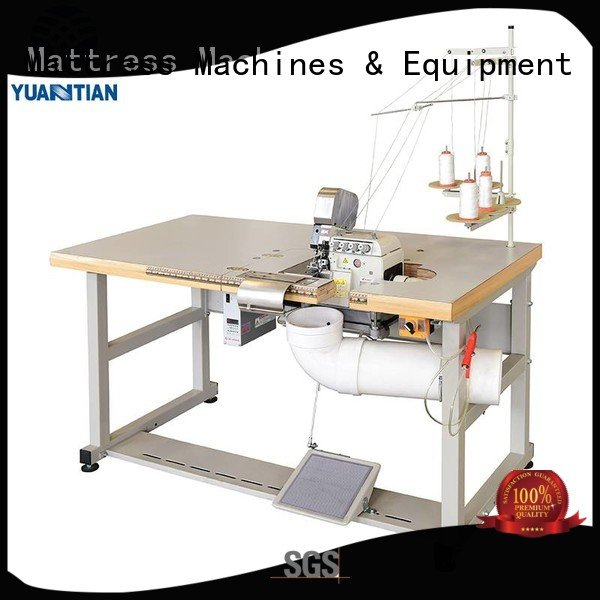 Double Sewing Heads Flanging Machine multifunction sewing YUANTIAN Mattress Machines Brand