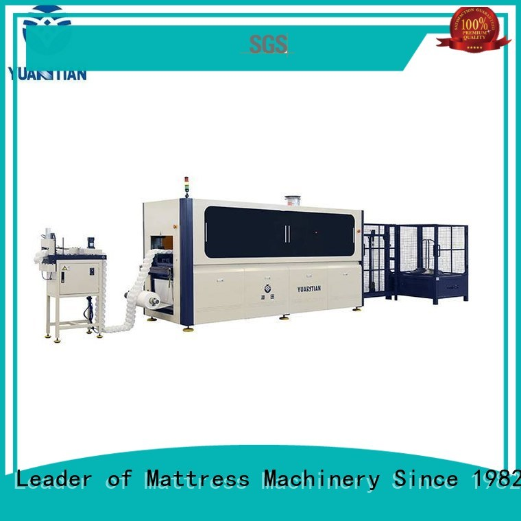 YUANTIAN Mattress Machines Brand high Automatic High Speed Pocket Spring Machine pocketspring factory