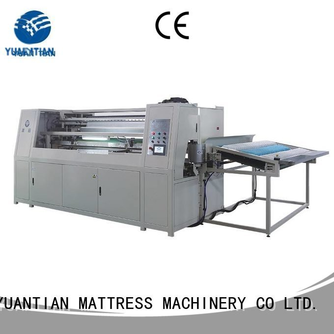 YUANTIAN Mattress Machines Automatic Pocket Spring Machine production speed line assembler