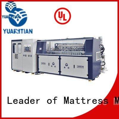 YUANTIAN Mattress Machines Brand unit bonnell production Automatic Bonnell Spring Coiling Machine