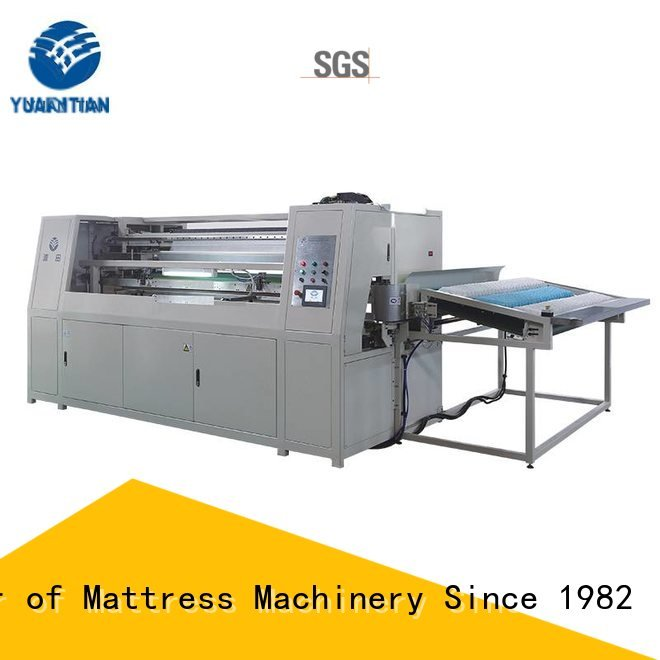 Wholesale dt012 machine Automatic High Speed Pocket Spring Machine YUANTIAN Mattress Machines Brand