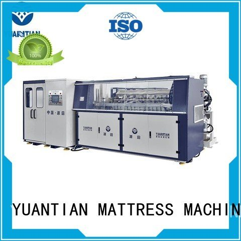 bonnell Automatic Bonnell Spring Coiling Machine automatic coiler YUANTIAN Mattress Machines