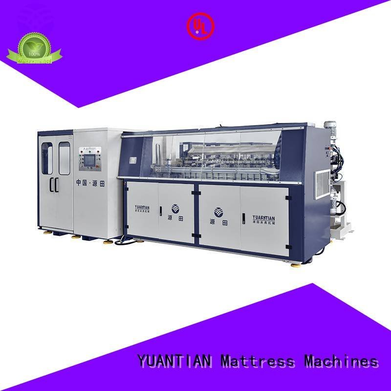 Quality bonnell spring machine YUANTIAN Mattress Machines Brand spring Automatic Bonnell Spring Coiling Machine