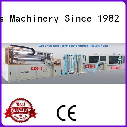 YUANTIAN Mattress Machines assembling pocketspring Automatic High Speed Pocket Spring Machine spring coiling