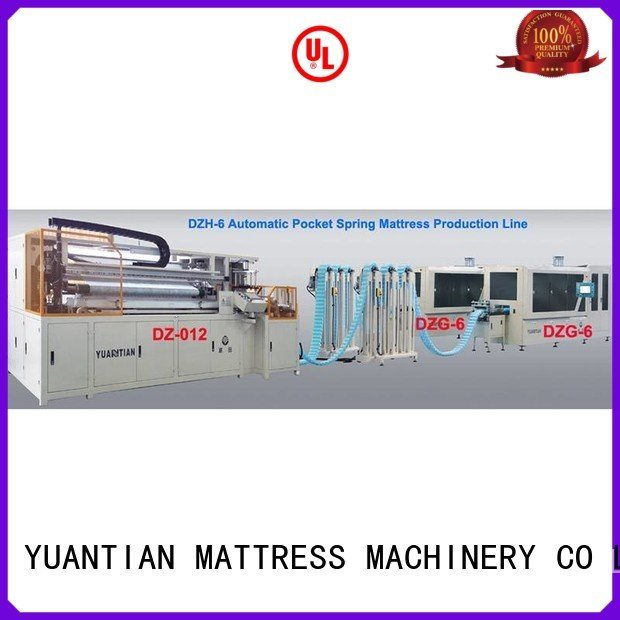dzg1b dzh3 automatic YUANTIAN Mattress Machines Automatic High Speed Pocket Spring Machine