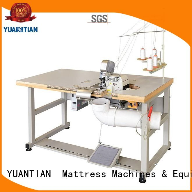 Double Sewing Heads Flanging Machine multifunction Mattress Flanging Machine flanging