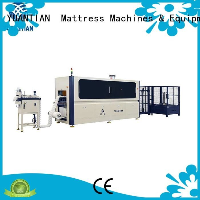 YUANTIAN Mattress Machines pocket automatic coiler Automatic Pocket Spring Machine production