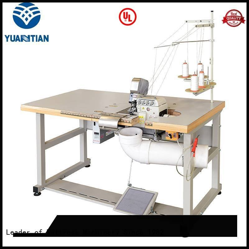 YUANTIAN Mattress Machines machine ds5c ds7a Double Sewing Heads Flanging Machine ds8a