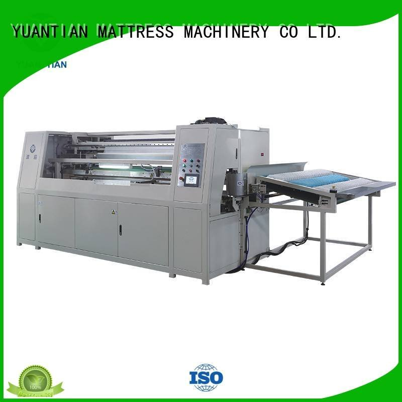 Hot Automatic Pocket Spring Machine assembler Automatic High Speed Pocket Spring Machine high YUANTIAN Mattress Machines