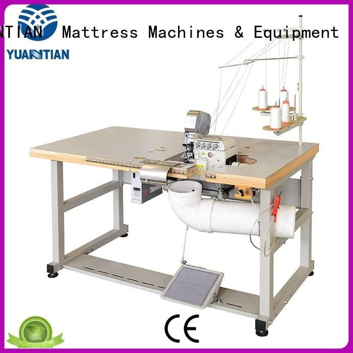 heads heavyduty dss1250 ds7a YUANTIAN Mattress Machines Mattress Flanging Machine