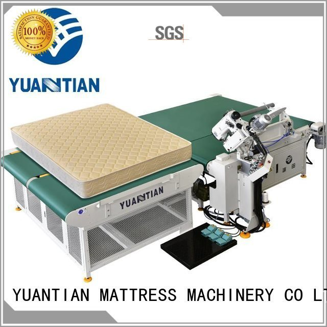 pf300u mattress table YUANTIAN Mattress Machines mattress tape edge machine