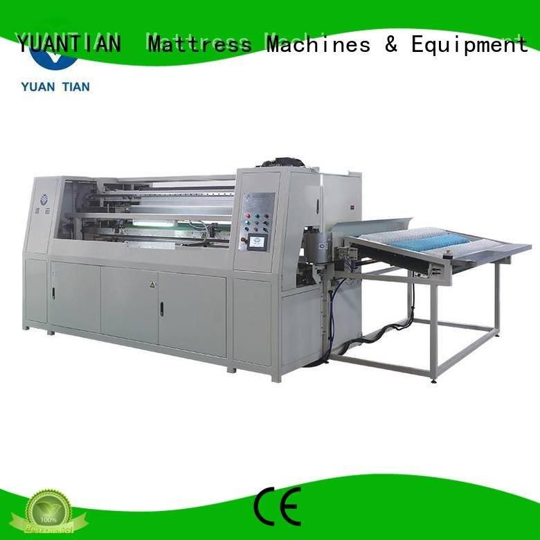 Quality Automatic Pocket Spring Machine YUANTIAN Mattress Machines Brand machine Automatic High Speed Pocket Spring Machine