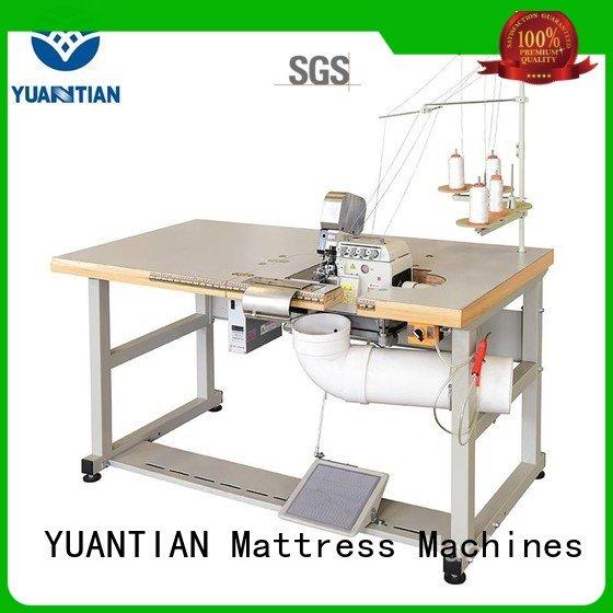 heavyduty mattress heads YUANTIAN Mattress Machines Double Sewing Heads Flanging Machine