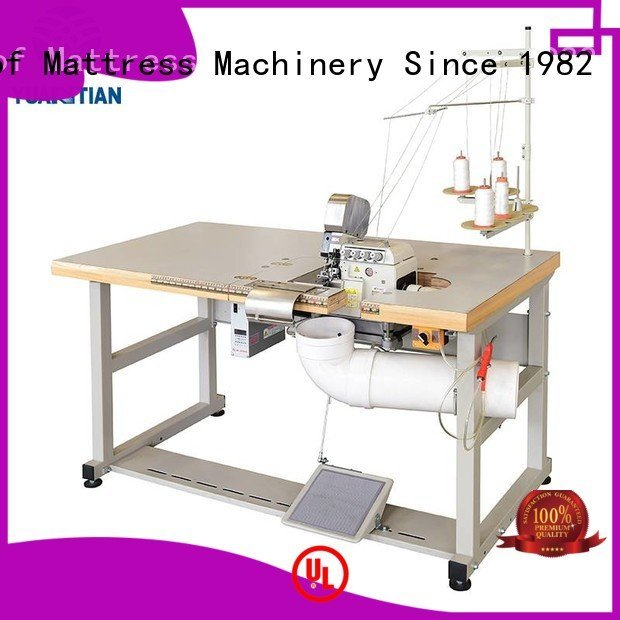 YUANTIAN Mattress Machines Brand heavyduty mattress heads Mattress Flanging Machine
