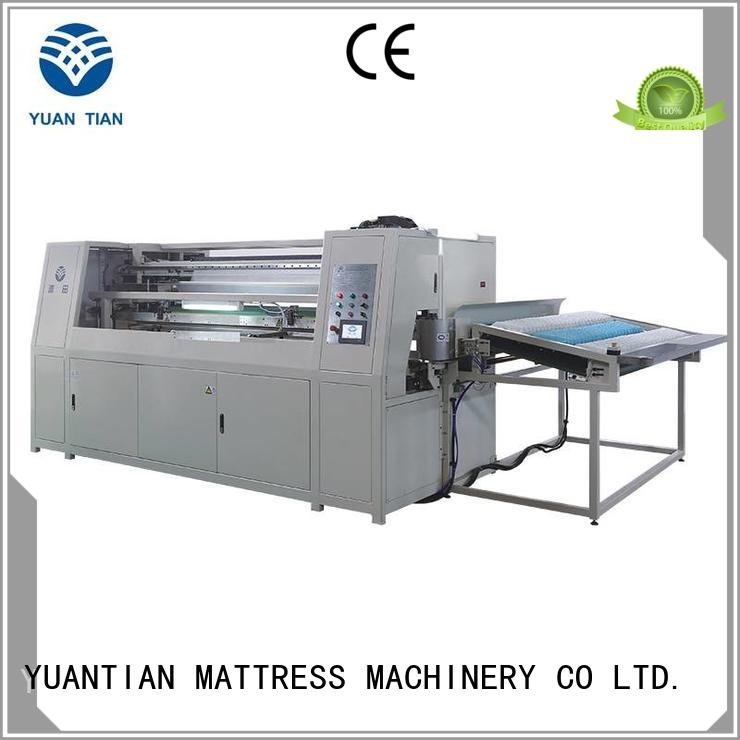 production spring YUANTIAN Mattress Machines Automatic Pocket Spring Machine