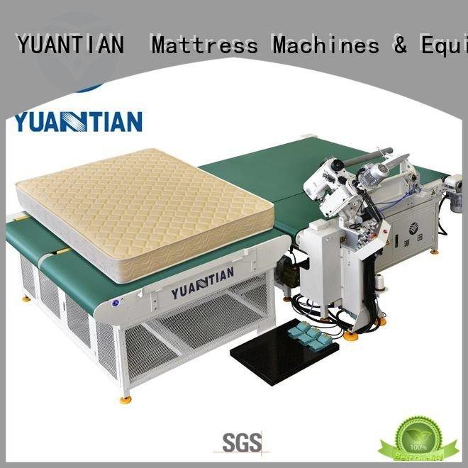 machine mattress tape edge machine binding table YUANTIAN Mattress Machines
