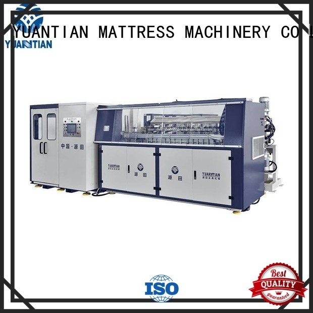 YUANTIAN Mattress Machines Brand coiler Automatic Bonnell Spring Coiling Machine line factory