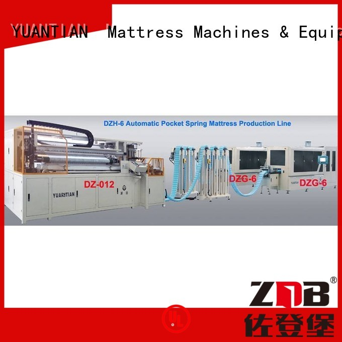 Hot production Automatic High Speed Pocket Spring Machine assembler coiling YUANTIAN Mattress Machines Brand