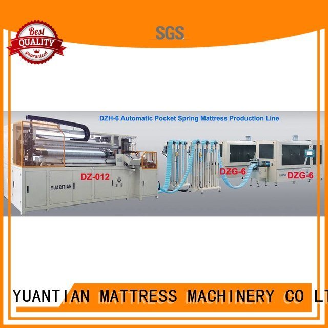 YUANTIAN Mattress Machines Automatic High Speed Pocket Spring Machine dn6 production dzg6 pocket
