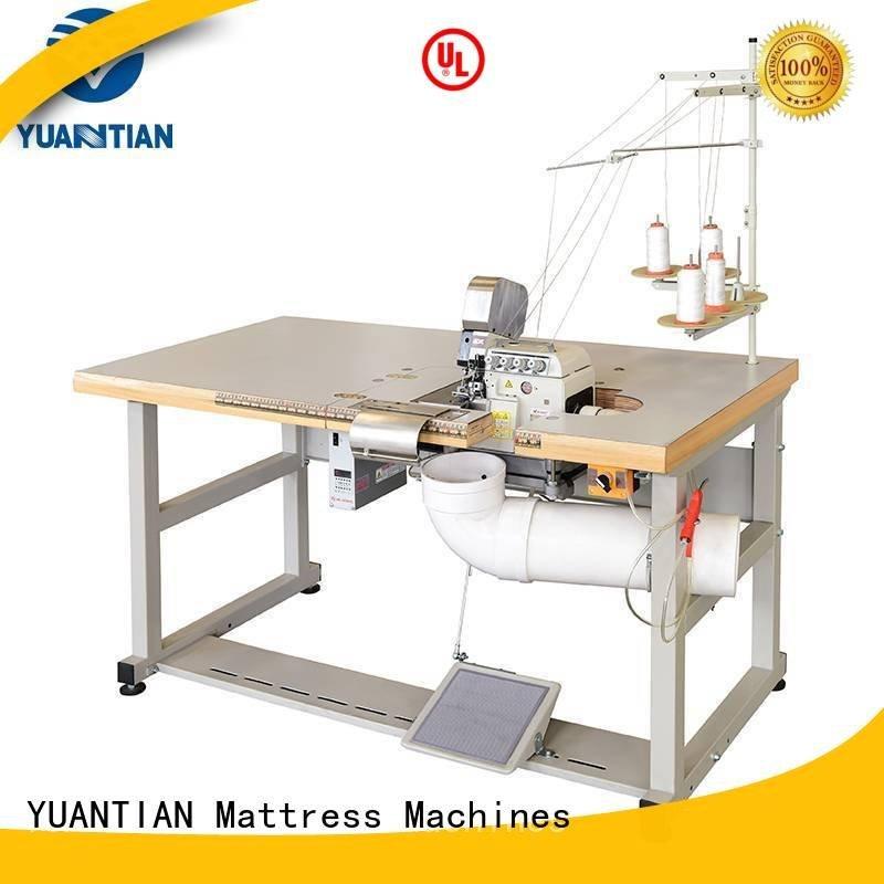 Custom machine Mattress Flanging Machine heavyduty Double Sewing Heads Flanging Machine