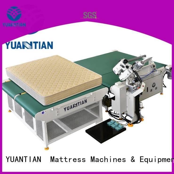 mattress tape edge machine table top YUANTIAN Mattress Machines Brand