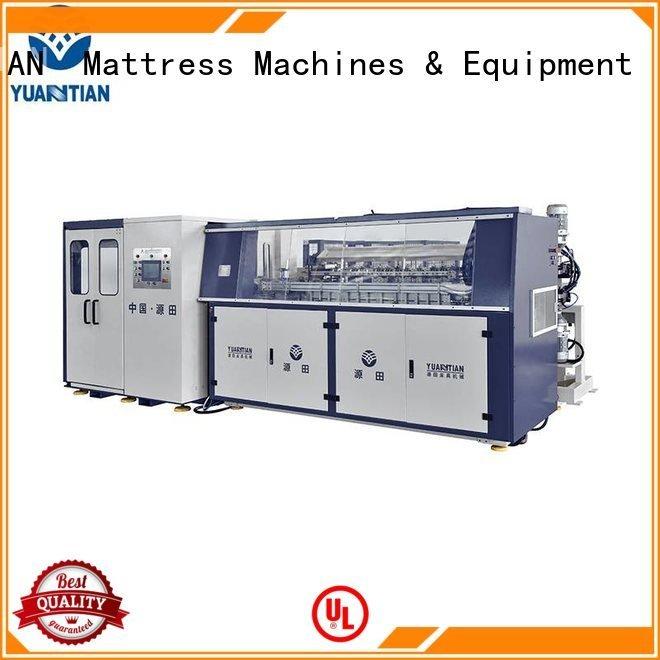 automatic unit production tx011 YUANTIAN Mattress Machines bonnell spring machine