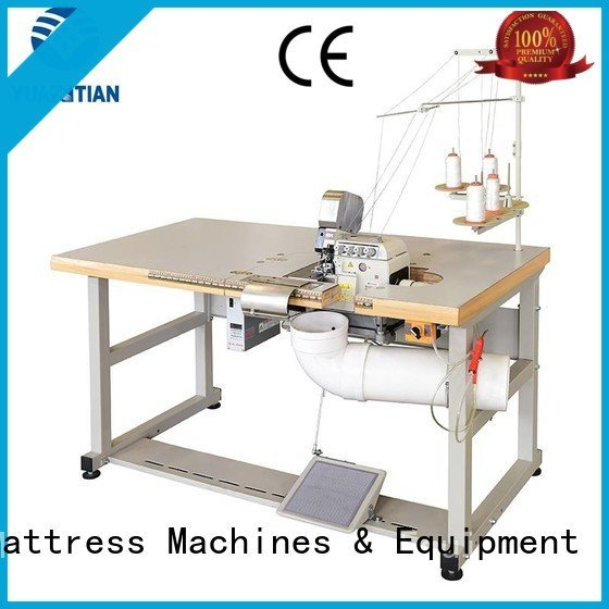 Double Sewing Heads Flanging Machine machine multifunction OEM Mattress Flanging Machine YUANTIAN Mattress Machines