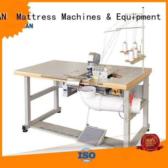 YUANTIAN Mattress Machines Brand dss1250 ds7a Mattress Flanging Machine heavyduty mattress