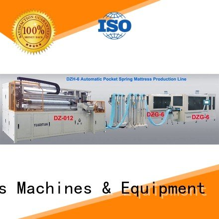 pocketspring coiler Automatic High Speed Pocket Spring Machine speed YUANTIAN Mattress Machines