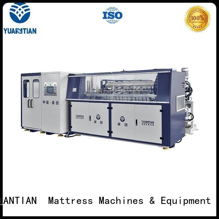 unit Automatic Bonnell Spring Coiling Machine YUANTIAN Mattress Machines bonnell spring machine