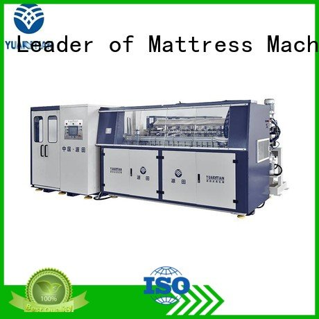 coiler machine zj3 YUANTIAN Mattress Machines Automatic Bonnell Spring Coiling Machine