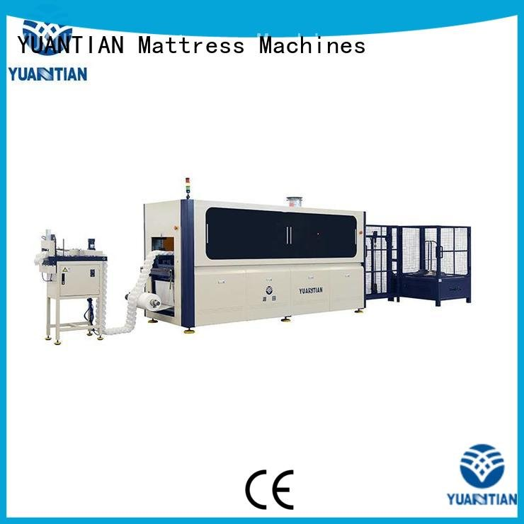 Custom Automatic High Speed Pocket Spring Machine pocket speed automatic YUANTIAN Mattress Machines