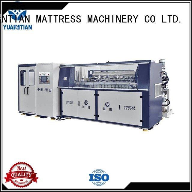 line machine bonnell coiler YUANTIAN Mattress Machines bonnell spring machine