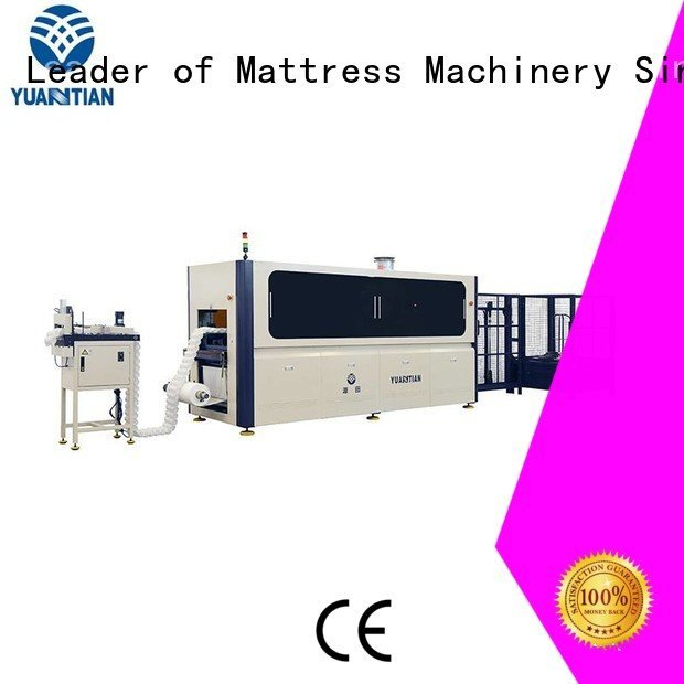YUANTIAN Mattress Machines Brand speed Automatic Pocket Spring Machine line pocket