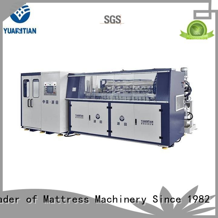 coiler line production YUANTIAN Mattress Machines bonnell spring machine