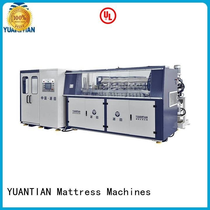 YUANTIAN Mattress Machines coiler production bonnell bonnell spring machine spring
