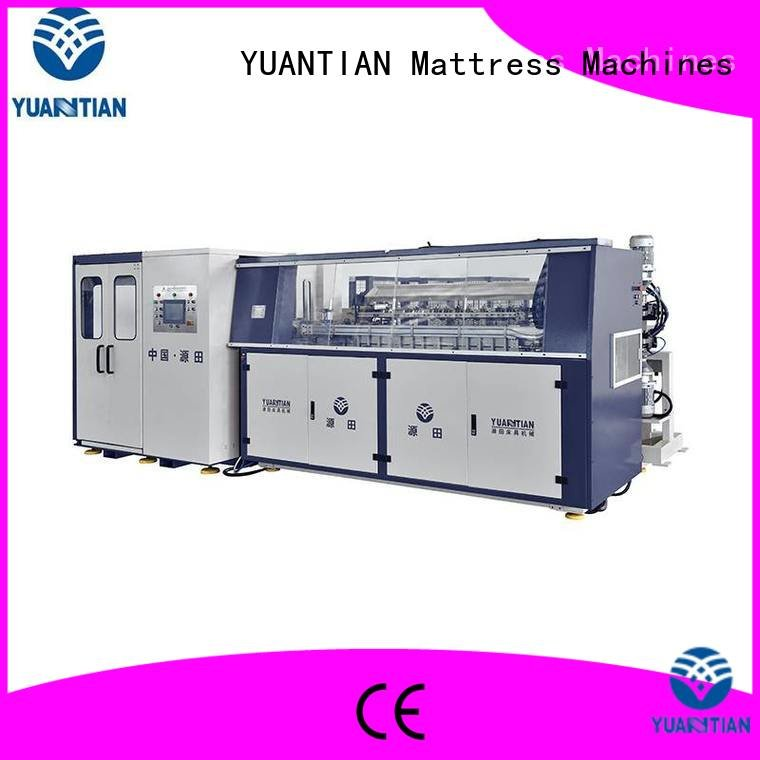 coiler machine YUANTIAN Mattress Machines Automatic Bonnell Spring Coiling Machine