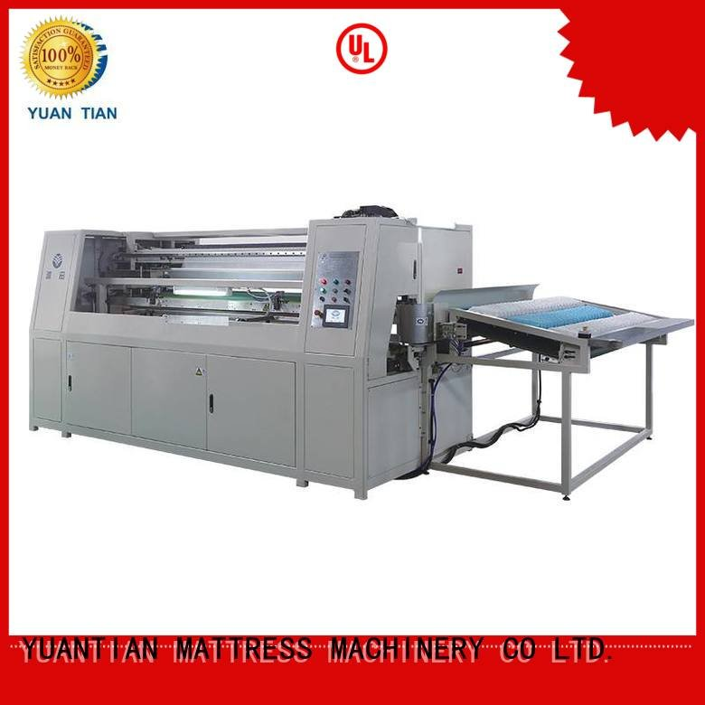 Wholesale spring machine Automatic High Speed Pocket Spring Machine YUANTIAN Mattress Machines Brand