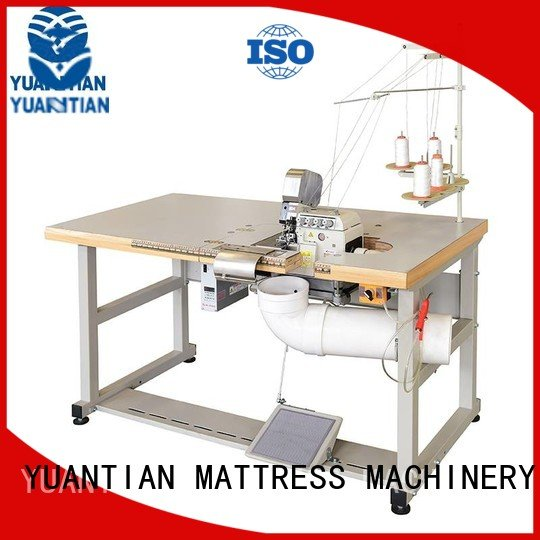 Double Sewing Heads Flanging Machine flanging Mattress Flanging Machine multifunction YUANTIAN Mattress Machines
