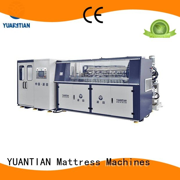 tx012 line Automatic Bonnell Spring Coiling Machine tx011 YUANTIAN Mattress Machines